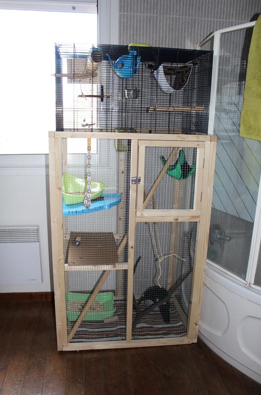 Voici la maison de mes ratounes :) Img_0010