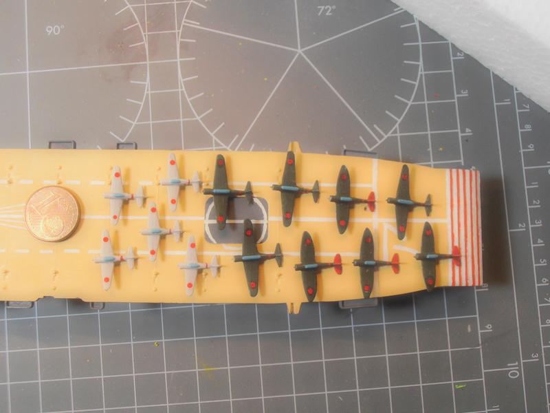 porte-avion Akagi au 1/700 d'Hasegawa P4250214