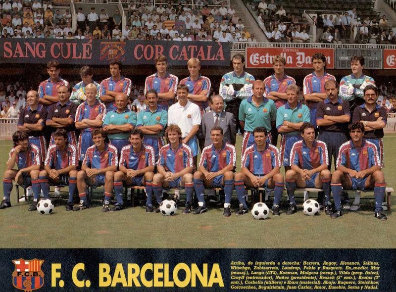 TEMPORADA 1992-1993 FC BARCELONA Ft10