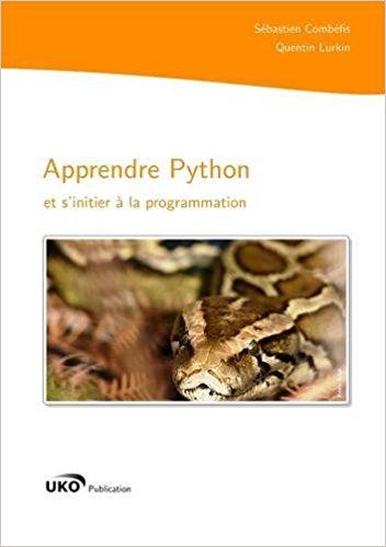 Apprendre Python et s'initier à la programmation de Sébastien Combéfis  41cwgw10