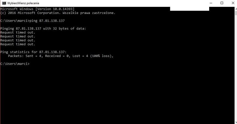 Gm why serwer offline  2017-013