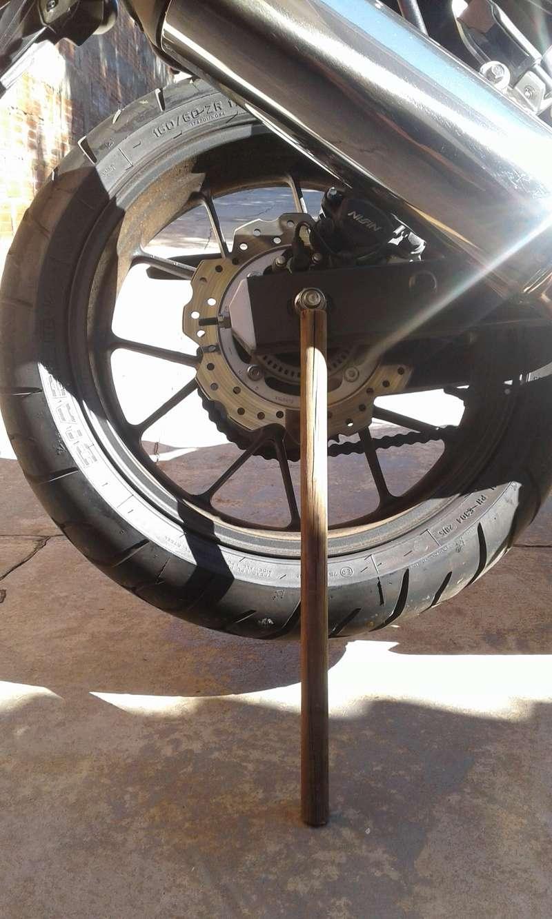DICA: Solução Caseira Para Lubricar Relação Da Moto ! 111