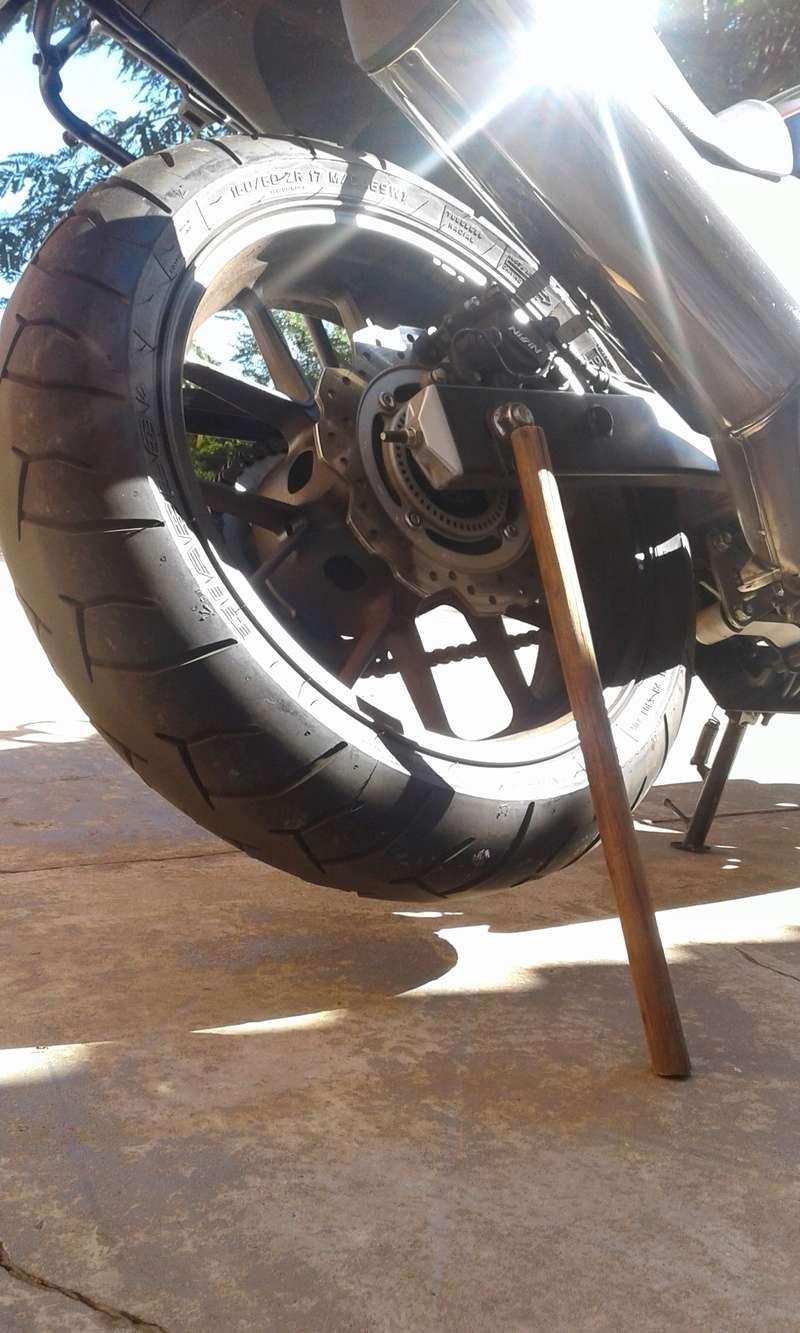 DICA: Solução Caseira Para Lubricar Relação Da Moto ! 211