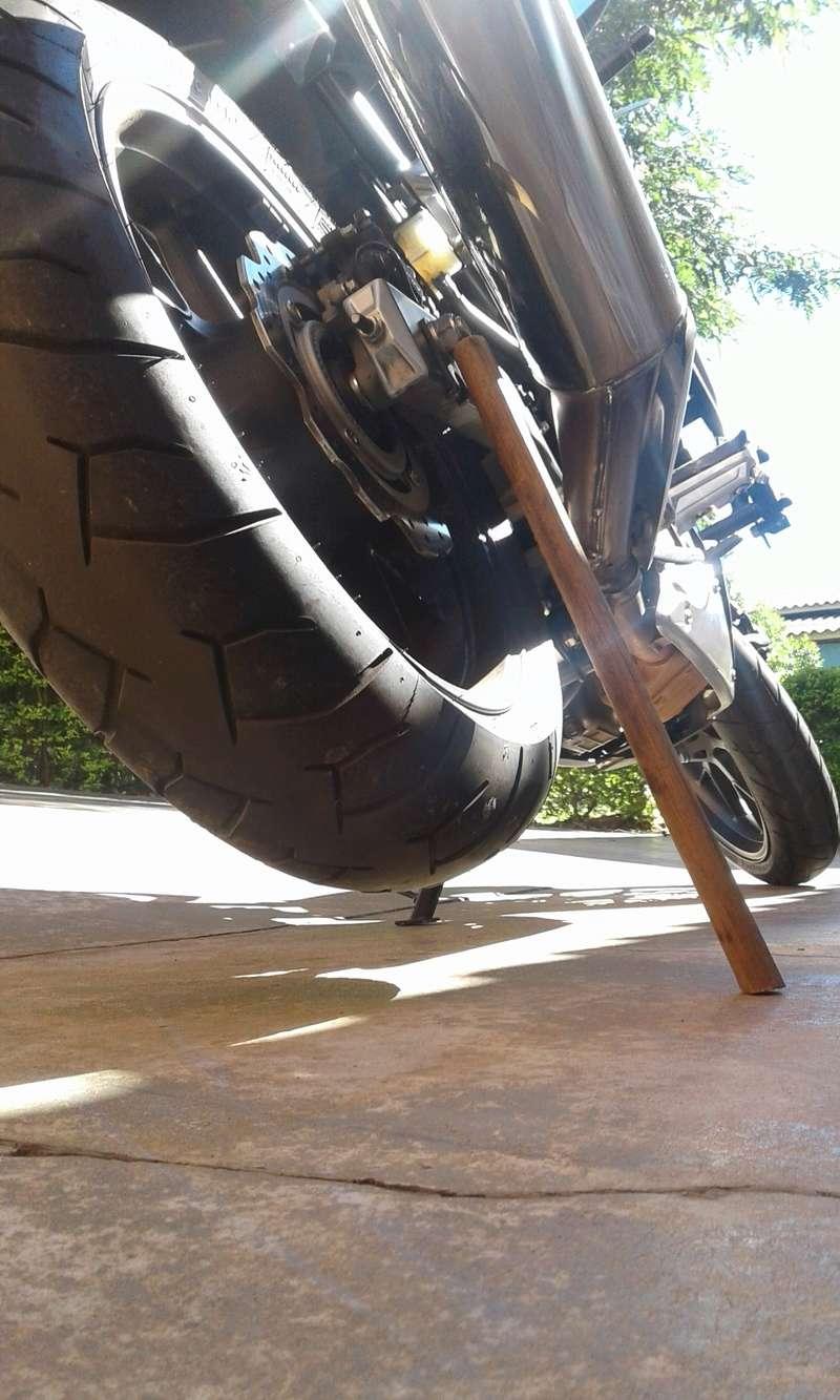 DICA: Solução Caseira Para Lubricar Relação Da Moto ! 311