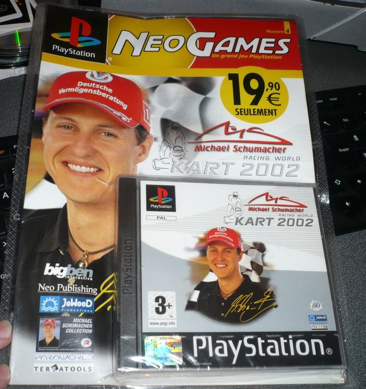 [PS1] sous blister : Michael Schumacher Racing World Kart 2002 P1070910