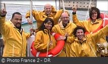 Fort Boyard 2002 - Émission 10 - Équipe Dieudonné Fort-b11