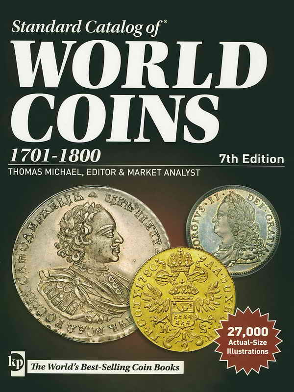 Catalogo Krause Standard Catalog of World Coins 1701-1800 7th Edition 324_bi10