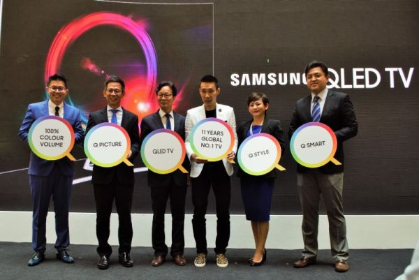 Samsung Malaysia launches QLED TV Qled1n10