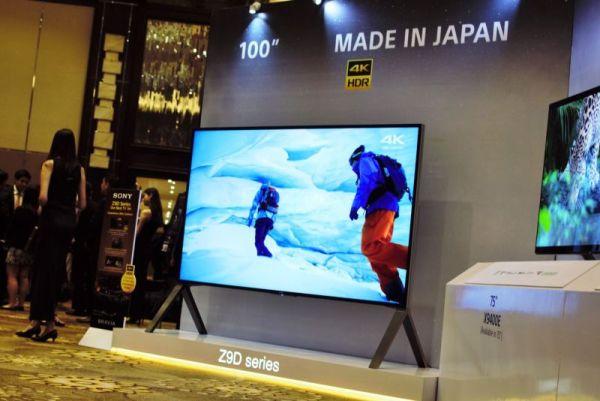 Sony launches new Bravia range of TVs Z9d_ne10