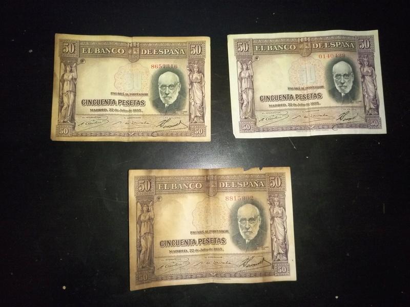 50 pesetas 1935 valor P7042818