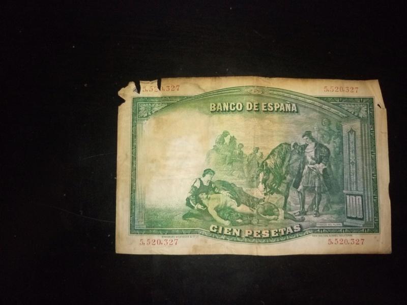 billete 100 pesetas 1931 valor P7042820