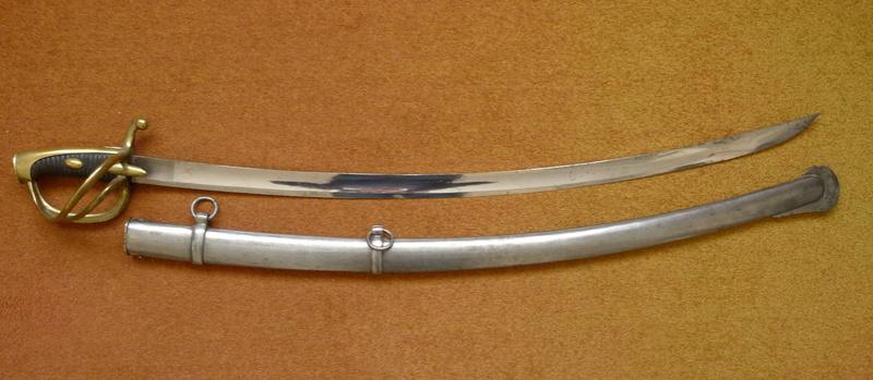 sabre an XI de cavalerie légère poincons P1040026