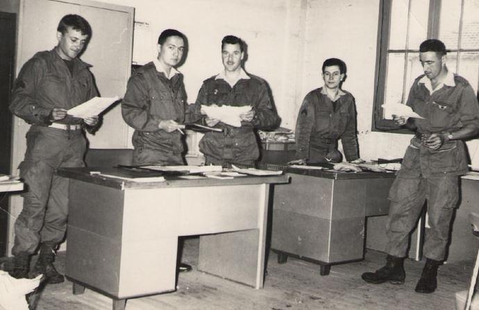 le 1er RCP années 60 B110