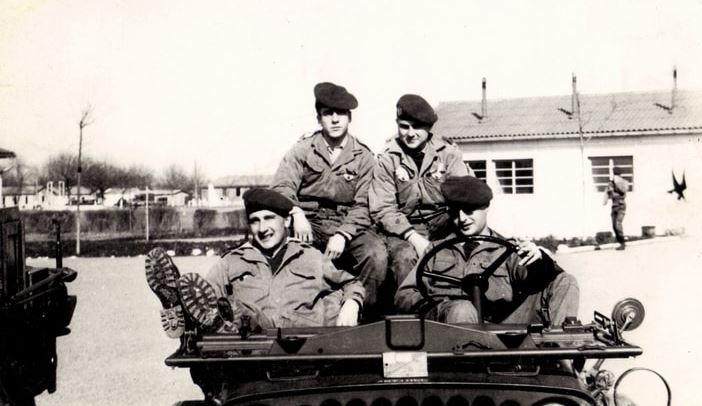 le 1er RCP années 60 M110