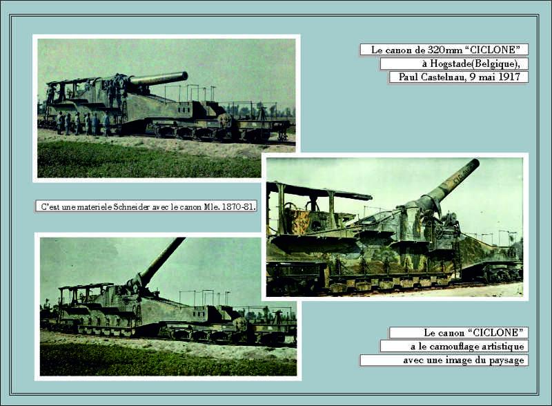 Canon de 32 cm Schneider 1870-81.  1/35 Scratch 0210