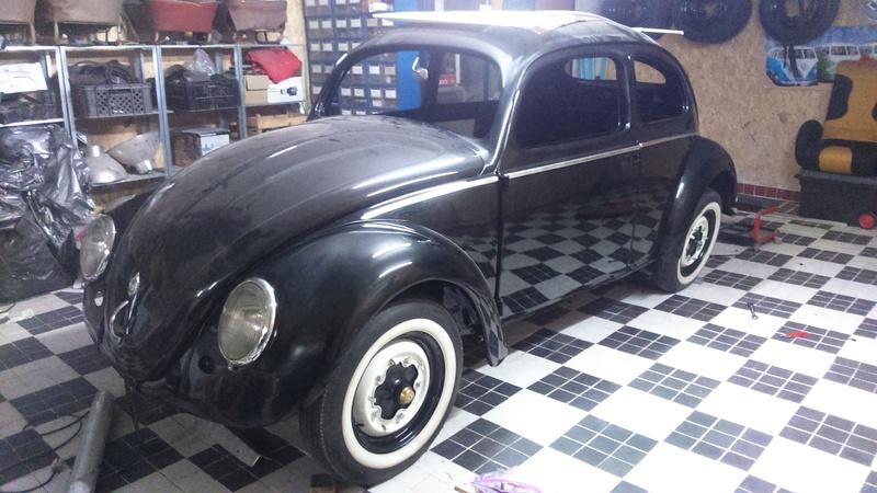 Restauro do VW 1200 de 1954 2016-137