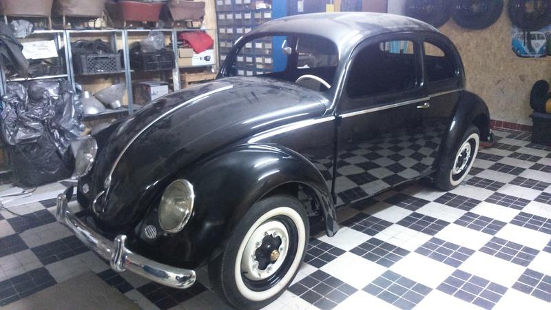 Restauro do VW 1200 de 1954 2016-144