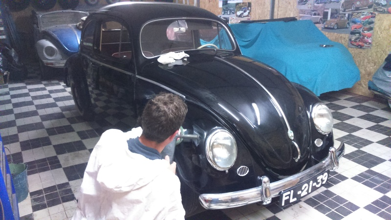 Restauro do VW 1200 de 1954 2016-174