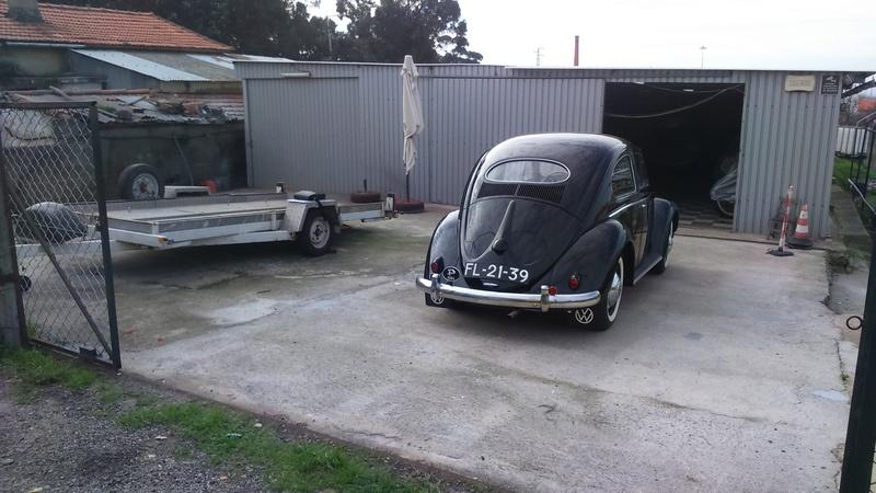 Restauro do VW 1200 de 1954 2016-185