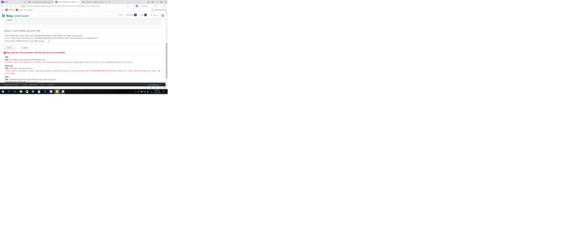 الدرس الرابع : اضافة موقعك بمحرك البحث bing واثبات ملكية الموقع 210