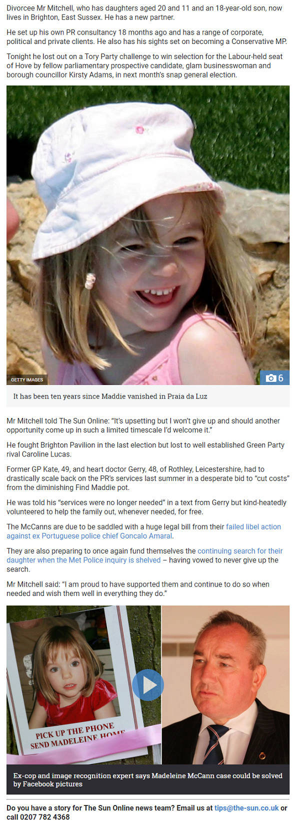 The Sun 29th April 2017 - The Night The McCanns Thought Maddie Was Found Part_410