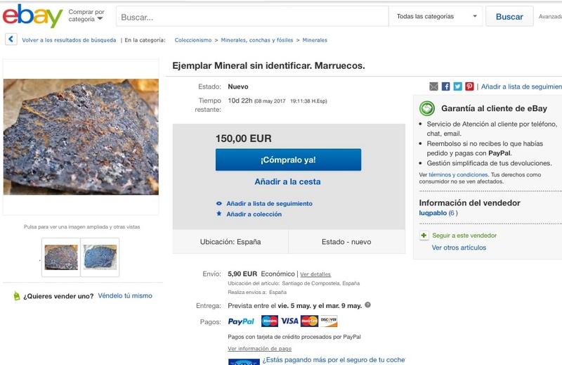 Mineral , Merzouga, Marruecos Image12