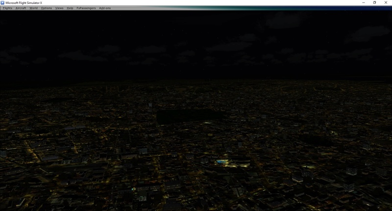 Iluminação noturna do FTX Global não aparece Erro_110