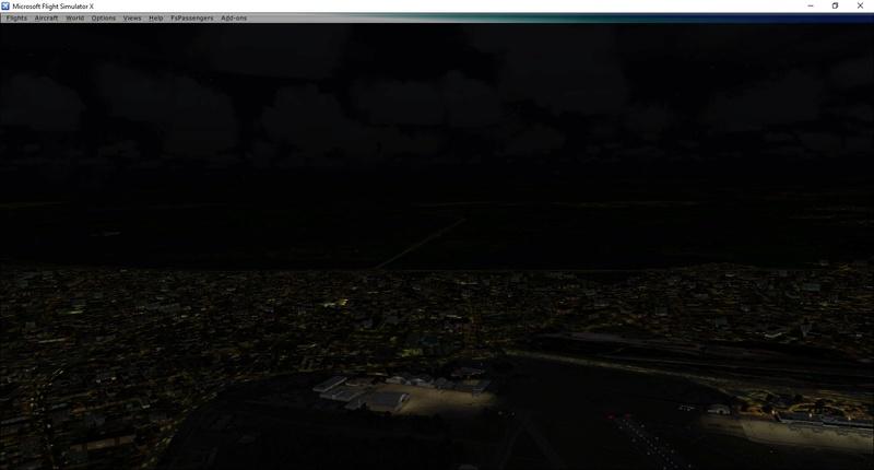 Iluminação noturna do FTX Global não aparece Erro_210