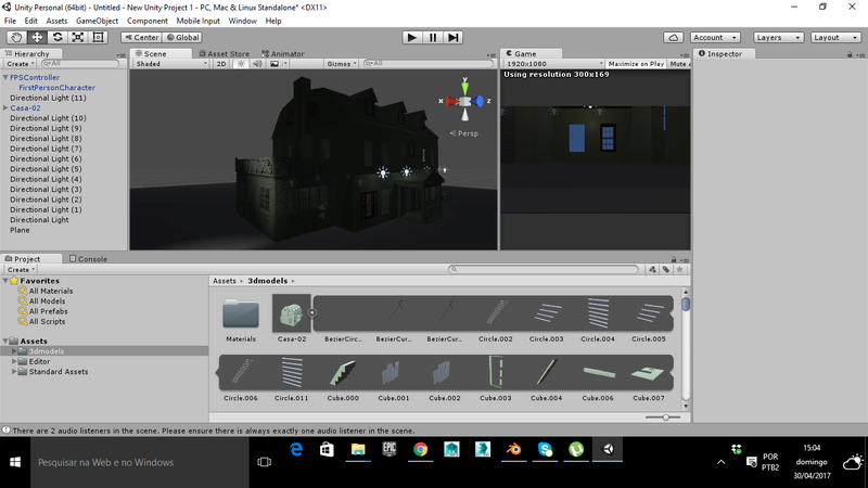 Projeto Game de Terror Casa10