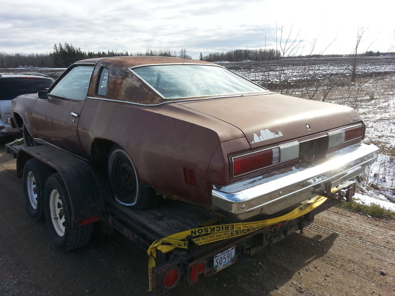 Parting Out: Complete 75 Malibu Classic 2dr 20170411
