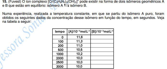 FUVEST-Equilíbrio Químico Sem_ty14