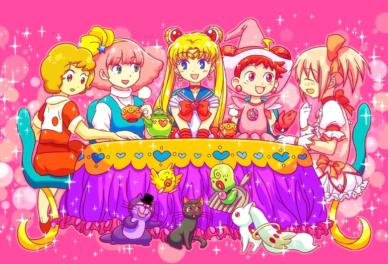 Magical girls & mascottes Café