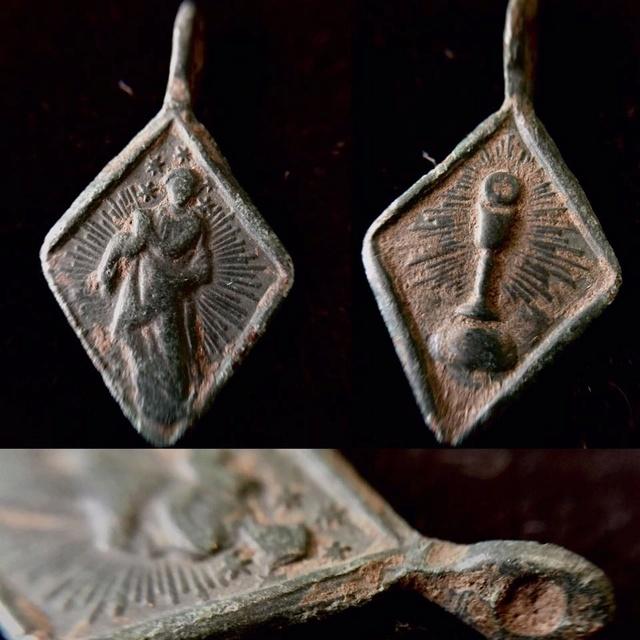 Medalla Desconocida Romboide Medall18