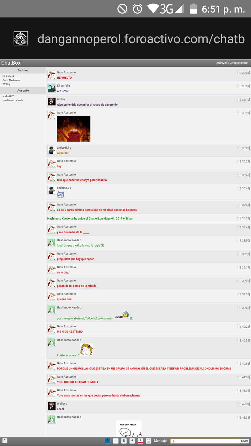 Revelaciones de Chat Box( ͡° ͜ʖ ͡°) - Página 4 Screen12