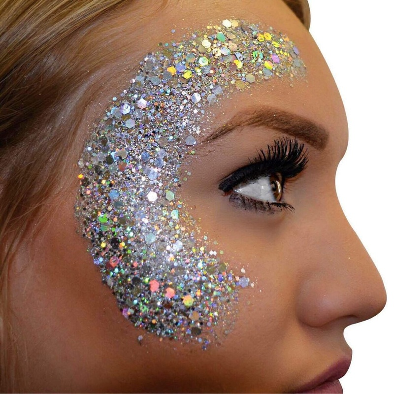 Festival glitter faces Cheekb11