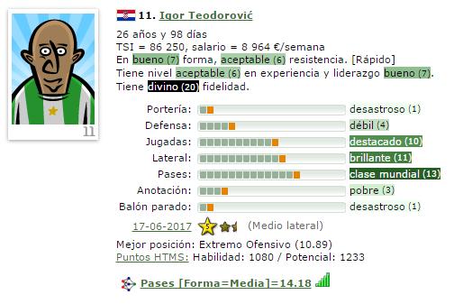 En caso de Ascenso a IV/Otra temporada en V = Que Fichajes Haríais ? (Estoy 2º) 11-igo11