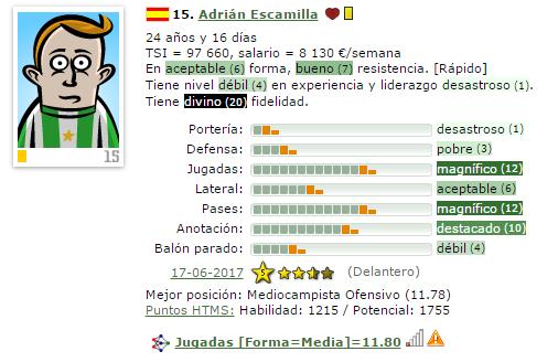 En caso de Ascenso a IV/Otra temporada en V = Que Fichajes Haríais ? (Estoy 2º) 15-esc11