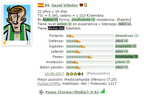En caso de Ascenso a IV/Otra temporada en V = Que Fichajes Haríais ? (Estoy 2º) 21-vil11