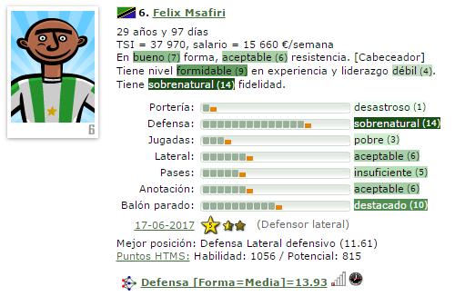 En caso de Ascenso a IV/Otra temporada en V = Que Fichajes Haríais ? (Estoy 2º) 6-msaf14