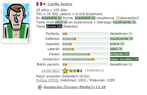 En caso de Ascenso a IV/Otra temporada en V = Que Fichajes Haríais ? (Estoy 2º) 9-sast11