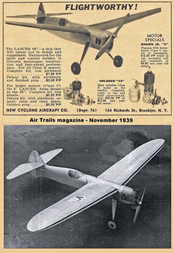 Aeromodelismo clássico - Modelos, kits, motores e tudo mais  - Página 4 C0b76010