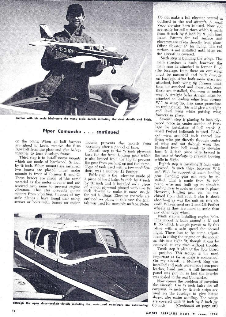 Aeromodelismo clássico - Modelos, kits, motores e tudo mais  - Página 4 Comman10
