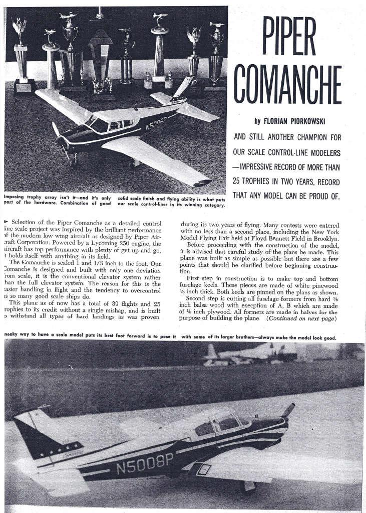 Aeromodelismo clássico - Modelos, kits, motores e tudo mais  - Página 4 Comman12