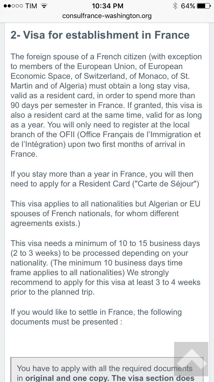 Un Indien peut-il travailler en France après avoir épousé une Francaise? Image110