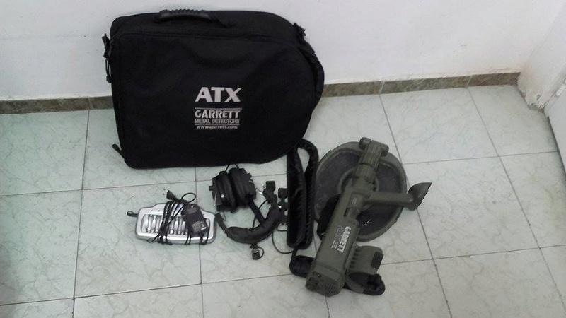 Продавам метал детектор Garrett ATX 18217712