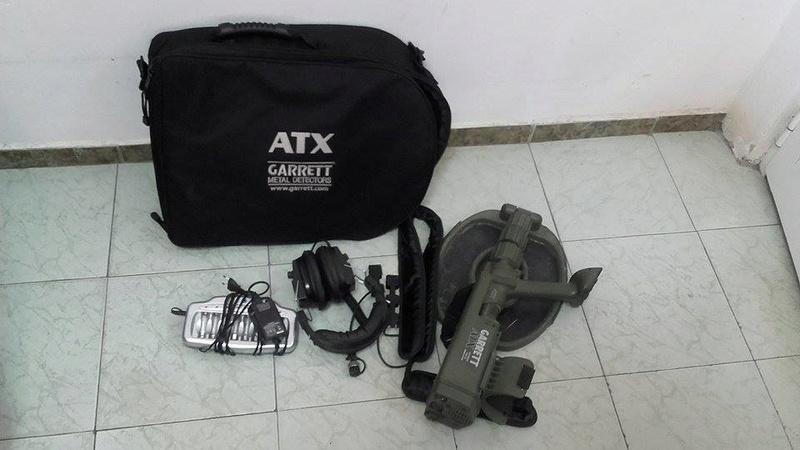Продавам метал детектор Garrett ATX 18302211
