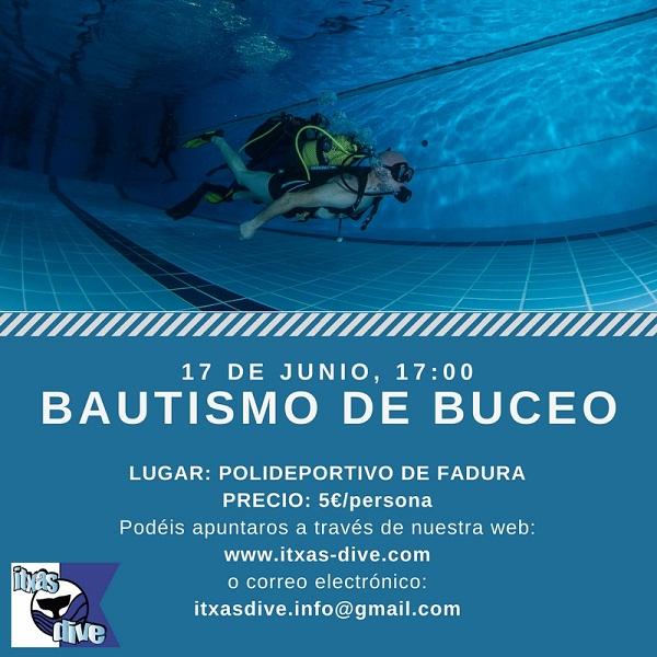 BAUTISMO DE BUCEO - 17 JUNIO - POLIDEPORTIVO DE FADURA Bautis10