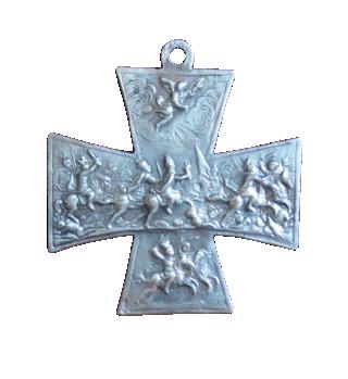 Cruz San Ulrico con la  Virgen milagrosa  de Schneckenkapelle (F./Clase V.I.) [Pec035/ S-XVIII]  910