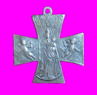 Cruz San Ulrico con la  Virgen milagrosa  de Schneckenkapelle (F./Clase V.I.) [Pec035/ S-XVIII]  9b10