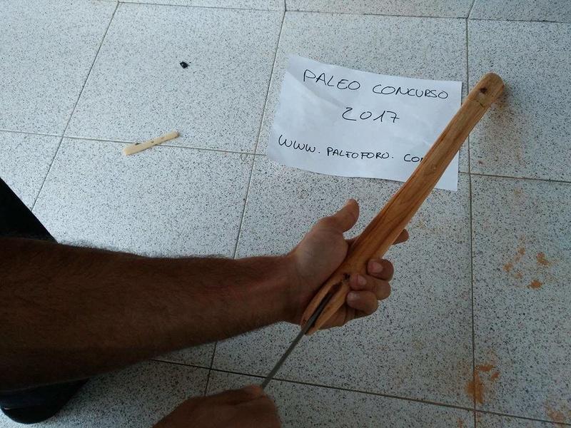 Propulsor de hueso y madera de tejo. Azagaya de aligustre y asta de ciervo  18261010